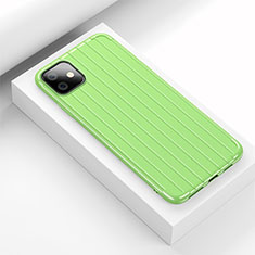 Custodia Silicone Cover Morbida Line C01 per Apple iPhone 11 Verde