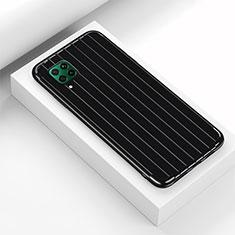 Custodia Silicone Cover Morbida Line C01 per Huawei P40 Lite Nero