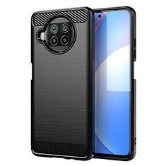 Custodia Silicone Cover Morbida Line C01 per Xiaomi Mi 10T Lite 5G Nero