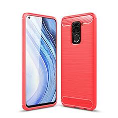Custodia Silicone Cover Morbida Line C01 per Xiaomi Redmi 10X 4G Rosso
