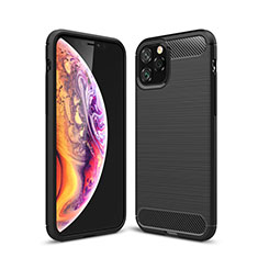 Custodia Silicone Cover Morbida Line C02 per Apple iPhone 11 Pro Max Nero