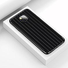 Custodia Silicone Cover Morbida Line C03 per Huawei Mate 20 Pro Nero
