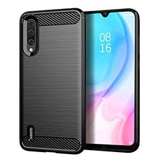 Custodia Silicone Cover Morbida Line C05 per Xiaomi Mi A3 Nero