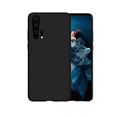 Custodia Silicone Cover Morbida Line C07 per Huawei Honor 20 Pro Nero