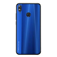 Custodia Silicone Cover Morbida Line per Huawei Honor V10 Lite Blu
