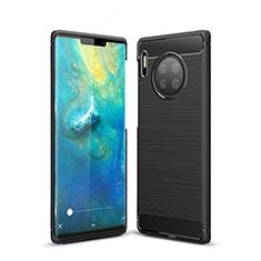 Custodia Silicone Cover Morbida Line per Huawei Mate 30 Pro 5G Nero