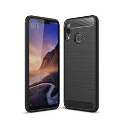 Custodia Silicone Cover Morbida Line per Huawei P20 Lite Nero