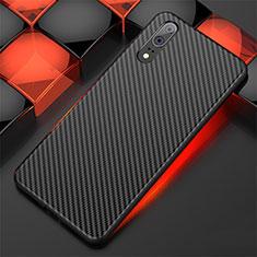 Custodia Silicone Cover Morbida Line per Huawei P20 Nero