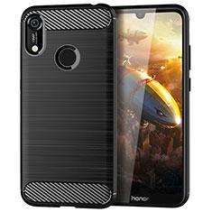 Custodia Silicone Cover Morbida Line per Huawei Y6 Pro (2019) Nero