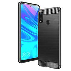 Custodia Silicone Cover Morbida Line per Huawei Y7 Pro (2019) Nero