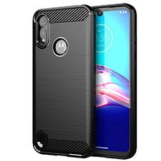 Custodia Silicone Cover Morbida Line per Motorola Moto E6s (2020) Nero