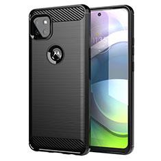 Custodia Silicone Cover Morbida Line per Motorola Moto G 5G Nero