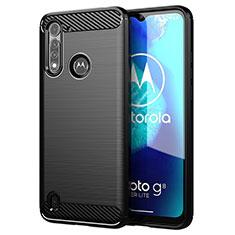 Custodia Silicone Cover Morbida Line per Motorola Moto G8 Power Lite Nero