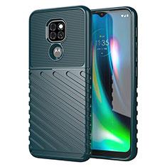 Custodia Silicone Cover Morbida Line per Motorola Moto G9 Verde