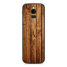 Custodia Silicone Cover Morbida Line per Nokia 8110 (2018) Arancione