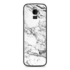 Custodia Silicone Cover Morbida Line per Nokia 8110 (2018) Bianco