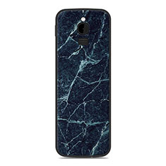 Custodia Silicone Cover Morbida Line per Nokia 8110 (2018) Blu