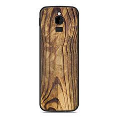 Custodia Silicone Cover Morbida Line per Nokia 8110 (2018) Marrone