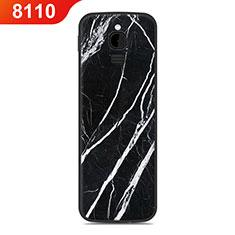 Custodia Silicone Cover Morbida Line per Nokia 8110 (2018) Nero