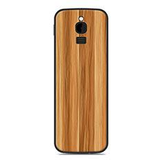 Custodia Silicone Cover Morbida Line per Nokia 8110 (2018) Oro