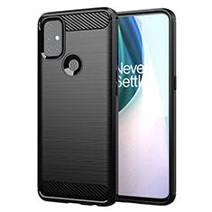 Custodia Silicone Cover Morbida Line per OnePlus Nord N10 5G Nero