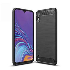 Custodia Silicone Cover Morbida Line per Samsung Galaxy A10 Nero