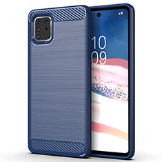 Custodia Silicone Cover Morbida Line per Samsung Galaxy A81 Blu