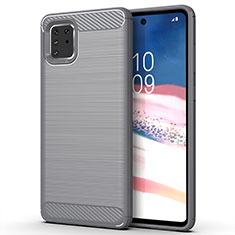 Custodia Silicone Cover Morbida Line per Samsung Galaxy A81 Grigio