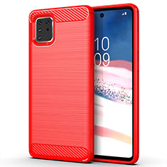 Custodia Silicone Cover Morbida Line per Samsung Galaxy A81 Rosso