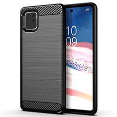Custodia Silicone Cover Morbida Line per Samsung Galaxy M60s Nero