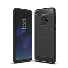 Custodia Silicone Cover Morbida Line per Samsung Galaxy S9 Nero