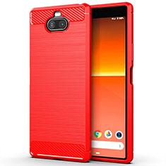 Custodia Silicone Cover Morbida Line per Sony Xperia 8 Lite Rosso