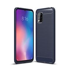 Custodia Silicone Cover Morbida Line per Xiaomi Mi 10 Lite Blu