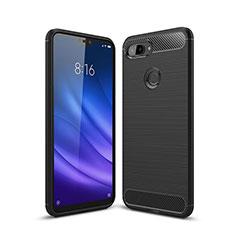 Custodia Silicone Cover Morbida Line per Xiaomi Mi 8 Lite Nero