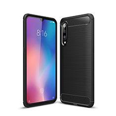 Custodia Silicone Cover Morbida Line per Xiaomi Mi 9 Nero