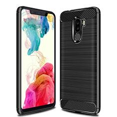 Custodia Silicone Cover Morbida Line per Xiaomi Pocophone F1 Nero