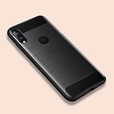 Custodia Silicone Cover Morbida Line per Xiaomi Redmi Note 7 Nero