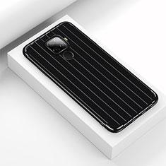 Custodia Silicone Cover Morbida Line S03 per Huawei Mate 30 Lite Nero
