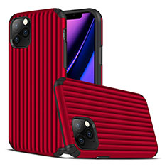 Custodia Silicone Cover Morbida Line Z01 per Apple iPhone 11 Pro Rosso