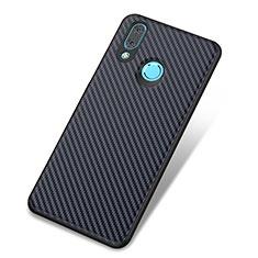 Custodia Silicone Cover Morbida Spigato per Huawei Nova 3 Blu