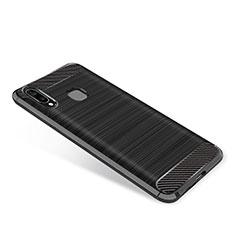 Custodia Silicone Cover Morbida Spigato per Samsung Galaxy A9 Star SM-G8850 Nero