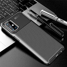 Custodia Silicone Cover Morbida Spigato per Samsung Galaxy M31s Nero