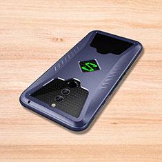 Custodia Silicone Cover Morbida Spigato per Xiaomi Black Shark Helo Blu
