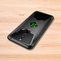 Custodia Silicone Cover Morbida Spigato per Xiaomi Black Shark Helo Nero