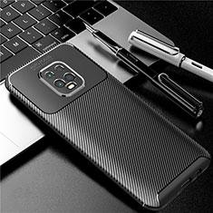 Custodia Silicone Cover Morbida Spigato per Xiaomi Redmi 10X Pro 5G Nero