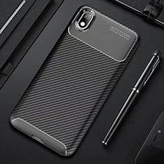 Custodia Silicone Cover Morbida Spigato per Xiaomi Redmi 7A Nero