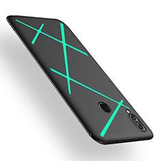 Custodia Silicone Cover Morbida Spigato T02 per Huawei Honor View 10 Lite Verde
