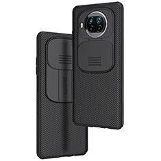 Custodia Silicone Cover Morbida Spigato U01 per Xiaomi Mi 10T Lite 5G Nero