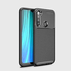 Custodia Silicone Cover Morbida Spigato Y02 per Xiaomi Redmi Note 8T Nero