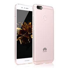 Custodia Silicone Cover Trasparente Ultra Sottile Morbida Sfumato per Huawei Enjoy 7 Chiaro